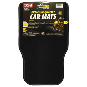Universal Promo Black Mat with Standard Black Binding – 4 Piece