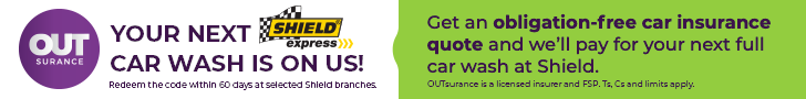 Shield Express Outsurance Banner